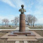 могила поэта стальского сулеймана сквер с.стальского (1869_1937гг)