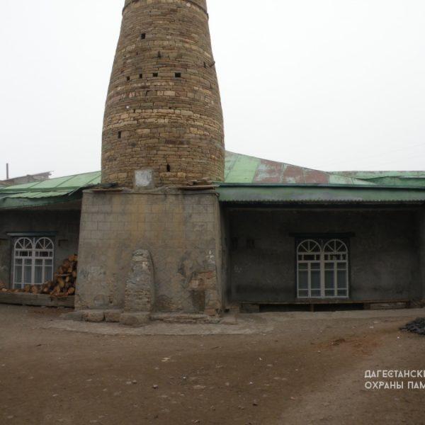 С. Кванада, мечеть с минаретом
