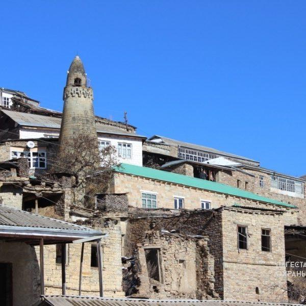 Мечеть с минаретом с. Цугни