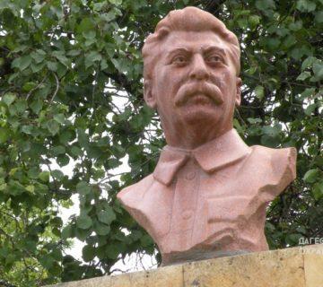 Памятник Сталину с. Сергокала