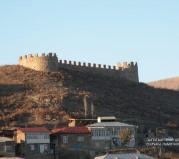 Крепость Бурхай-кала с. Кумух