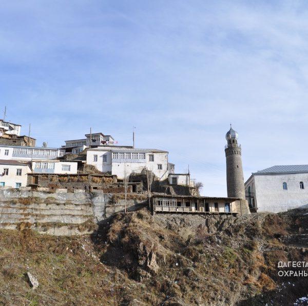 Мечеть с минаретом с. Цахур