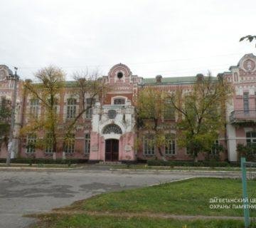 Здание где находился штаб обороны города