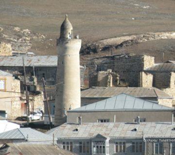 Мечеть с минаретом с. Мекеги