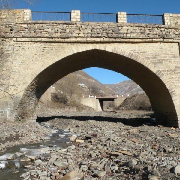 Арочный мост с. Курах
