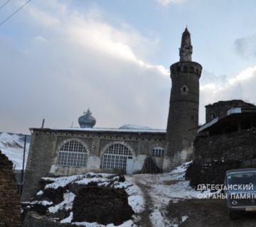 Джума-мечеть с минаретом в с. Рича