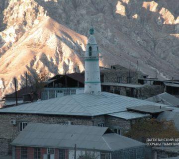 Мечеть с минаретом с. Игали